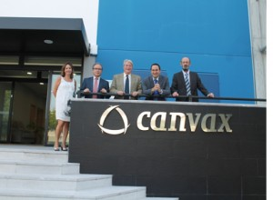 CECO executives visits Canvax´s new labs