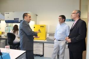 Patxi López visits Canvax´s headquarters