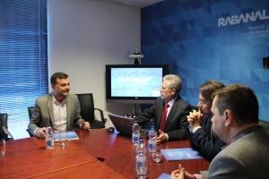 Antonio Maíllo visits Canvax´s Headquarters