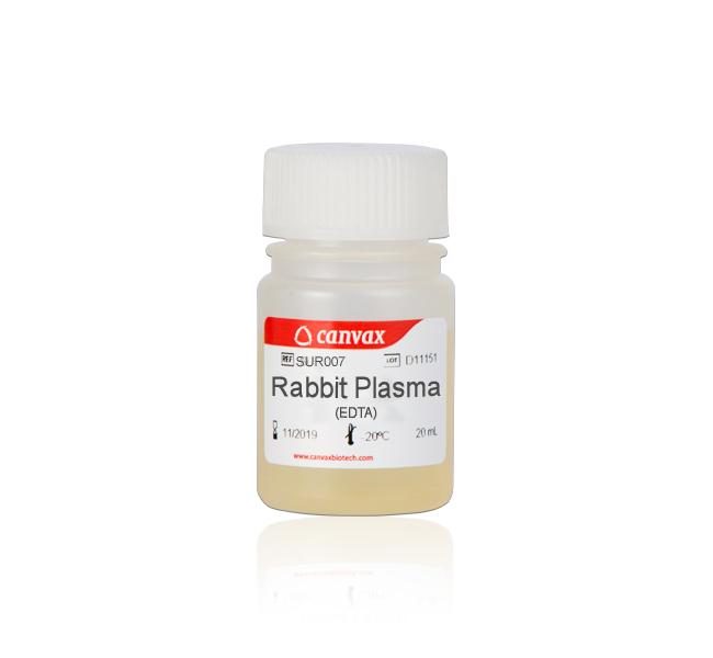 Rabbit Plasma EDTA