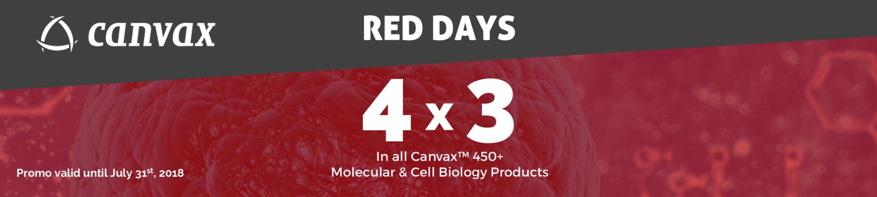 red days promo